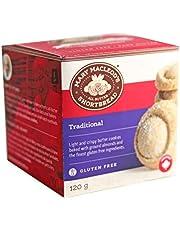 MARY MACLEOD'S SHORTBREAD Cube Box Gluten-Free Traditional Shortbread Cookies, Traditional, 120 gs