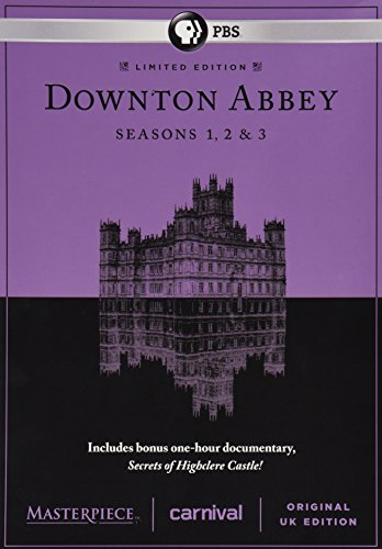 Masterpiece: Downton Abbey Seasons 1, 2 & 3 Deluxe Limited Edition (Bonus: Secrets of Highclere Castle)