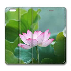 "iPhone 6 Plus Case,iPhone 6 Plus Flip Case-Lotus Flower 002 Leather Cover for iPhone 6 Plus(5.5"") by supermalls"