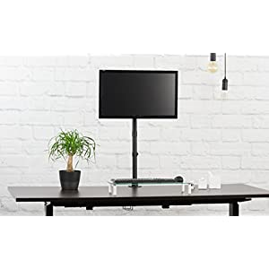 "VIVO Single Monitor Desk Mount Extra Tall Fully Adjustable Stand for up to 27"" Screen (STAND-V001T)"