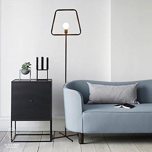 GUTOU-LDD Lámpara de pie Diseño De Moda Minimalista Moderno Hierro ...