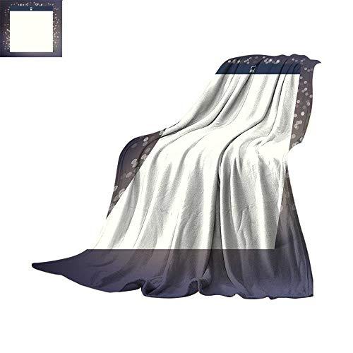 Blanket as Bedspread Digital Printing WarmVector Flat UI Design Trend Interface Throw Blanket 60