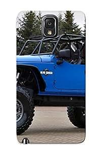Podiumjiwrp Cute Tpu BnqJCNi3110UXFgE Jeep Wrangler Blue Crush Case Cover Design For Galaxy Note 3