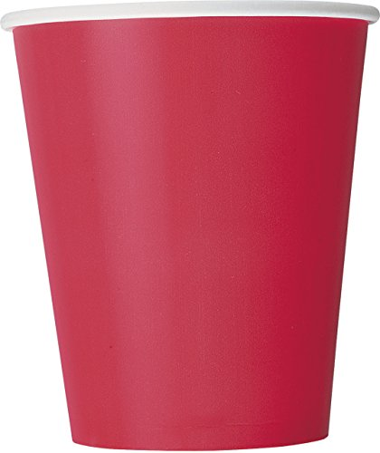 9oz Red Paper Cups, 14ct (Hot Dollar Costumes)