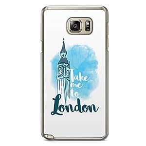 London Samsung Note 5 Transparent Edge Case - Destinations of the World