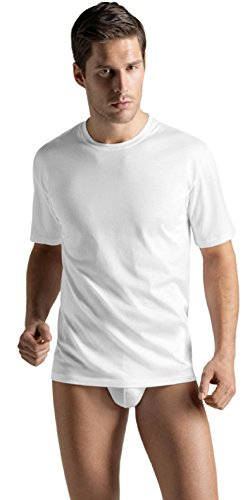 HANRO Men's Cotton Sporty Tee Shirt, -