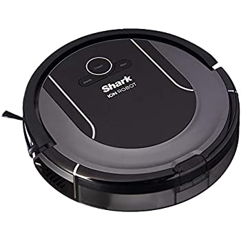 Shark Robot Cleaning System S87 (Wi-Fi) with Hand Vacuum in All-In-One Charging Dock and Voice Control with Alexa or Google Assistant (RV851WV), Ash Gray