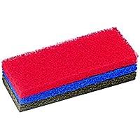 Rubi 20902 estropajos, Rojo, 25 cm, Set