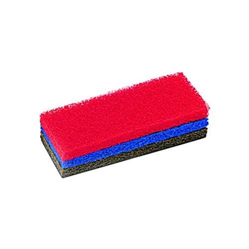 Rubi 20902 estropajos, Rojo, 25 cm, Set de 3 Piezas