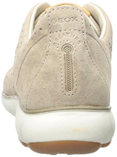 Geox Womens D Nebula Walking Shoe Light Taupe nqhw7cQR1