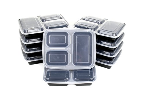 CucinaPrime Container Portion Leakproof Compartment