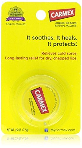 Carmex Lip Balm Pot, Original, 0.25 ounce