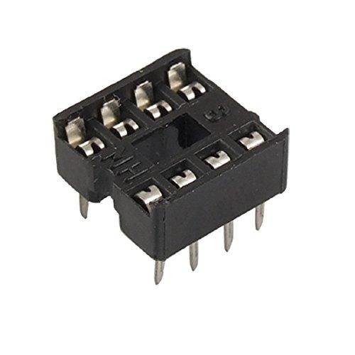 2.54mm DIP IC Sockets Solder Type Adaptors (8 Pin Dip Package)