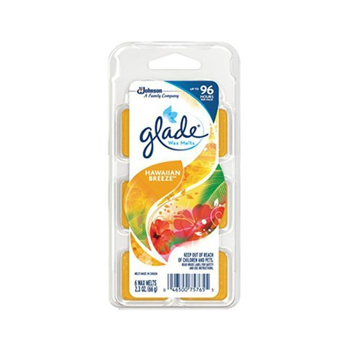 Glade Limited Edition - Hawaiian Breeze - Wax Melts, 6 each