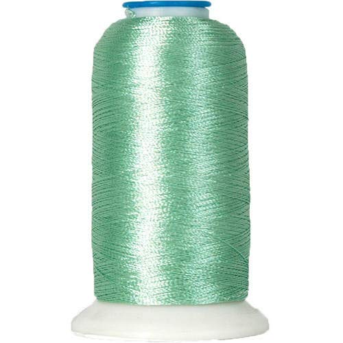 Threadart Rayon Machine Embroidery Thread - No. 370 - Mint Green - 1000M - 145 Colors