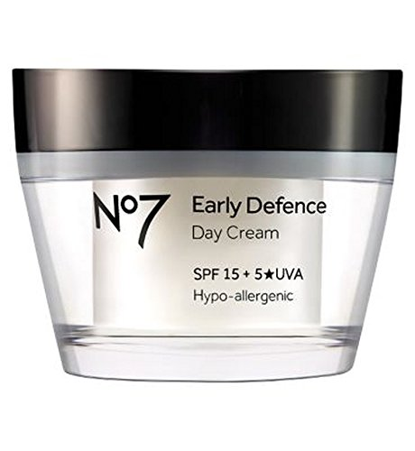 No7早期防衛デイクリーム (No7) (x2) - No7 Early Defence Day Cream (Pack of 2) [並行輸入品] B01N3S93CS