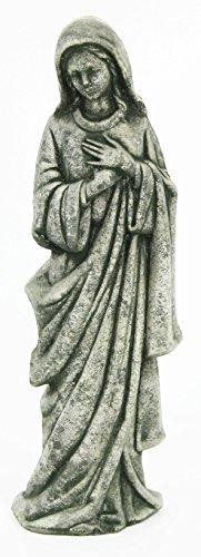 Madonna Statue Virgin Mary Garden Statues Religious Catholic Cement Figure European Sculpture