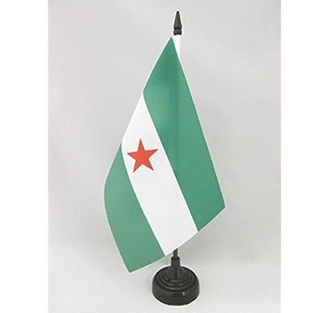 AZ FLAG Bandera de Mesa de Andalucia ARBONAIDA 21x14cm - BANDERINA ...