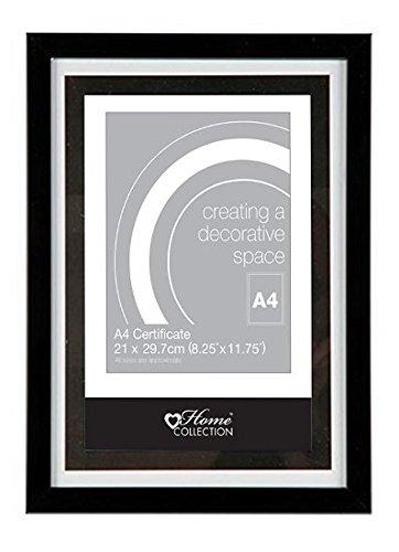 Photo Frame Black Wooden Frames Poster Certificate Home Decor Various Multi Size