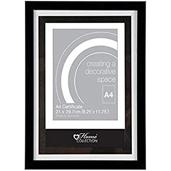 Anker Home Collection A4 Brown Certificate Photo//Picture Frame