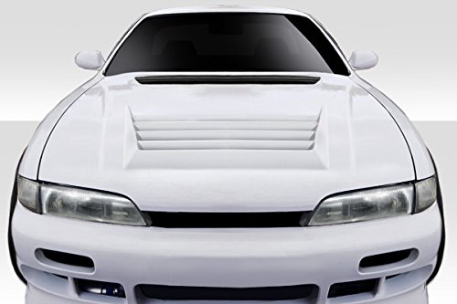 (Duraflex Replacement for 1995-1996 Nissan 240SX S14 D-Spec Hood - 1 Piece)