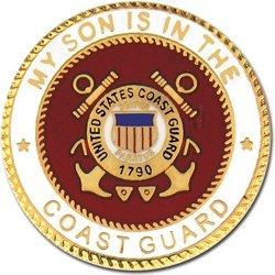 My US Coast Guard Son Lapel Pin or Hat Pin ()