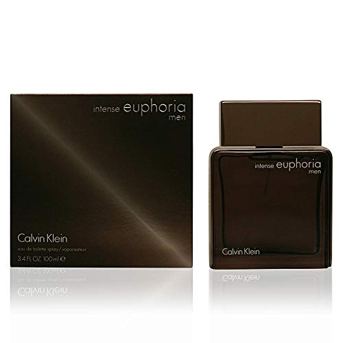 Calvin Klein intense euphoria for Men Eau de Toilette, 3.4 Fl Oz