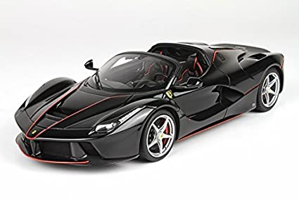 Amazon Com 2016 Ferrari Laferrari Aperta In Black Daytona Resin