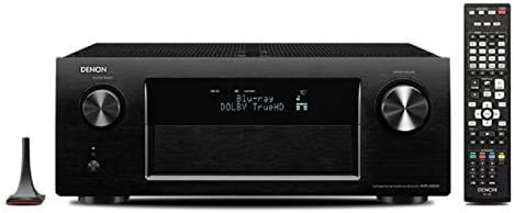 Denon AVサラウンドレシーバー 7.2ch AirPlay/ネットワーク 4K対応 ブラック AVR-X4000-K