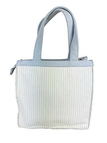 Atelier Fixdesign Canvas Bag Delicious Drive-Fix Light Blue/Cream