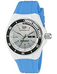 Technomarine Women's TM-115122 Cruise Sport Analog Display Swiss Quartz Blue Watch by TechnoMarine