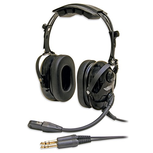 Aircraft Radio Noise (ASA HS-1 Aviation Headset)