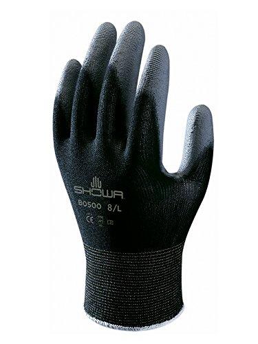 昭和手袋SHOB500B-M BO500ブラックグローブ、サイズ:M、ブラック  B01N6E7N41