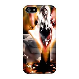 New Style Tpu 5/5s Protective Case Cover/ Iphone Case - Dark Lady