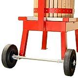 Wheel Kit for Maximizer Cider Press (Fits 20L Maximizer Presses)