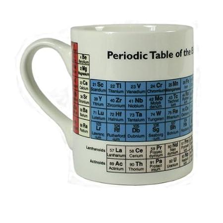 periodic table design fine bone china mug