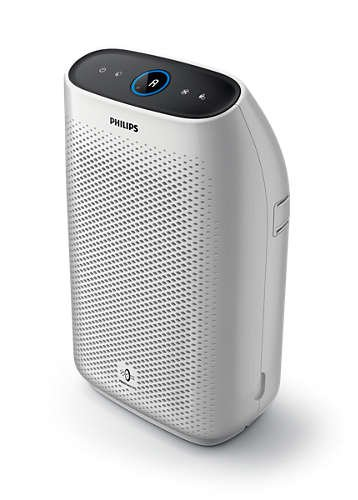 - Philips Air Purifier 1000, True HEPA, Reduces Allergens, Pollen, Dust Mites, Mold, Pet Dander, Gases and Odors, for Medium Rooms AC1213/40, Non-Connected for Bedrooms