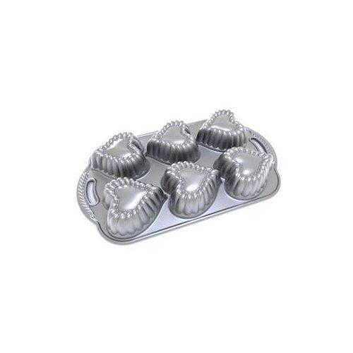 NORDIC WARE Heart Cakelet Baking Pan / 89137 /