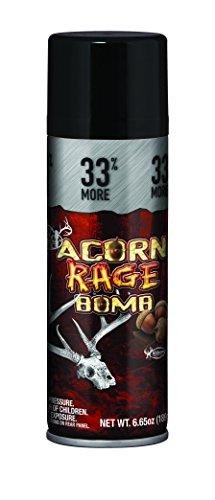 Buck Bomb Acorn Rage Bomb Attractant 33% More, - Acorn Scent