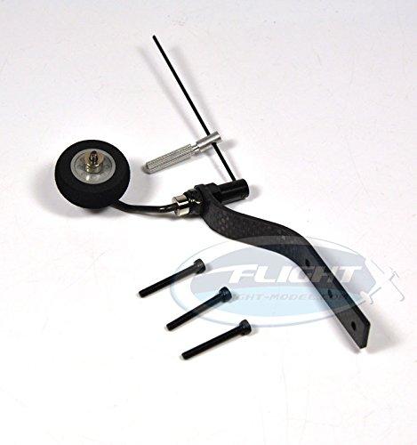 Zyhobby Carbon Fiber Tail Wheel Set For 20cc Gas RC Airplane sponge Wheel