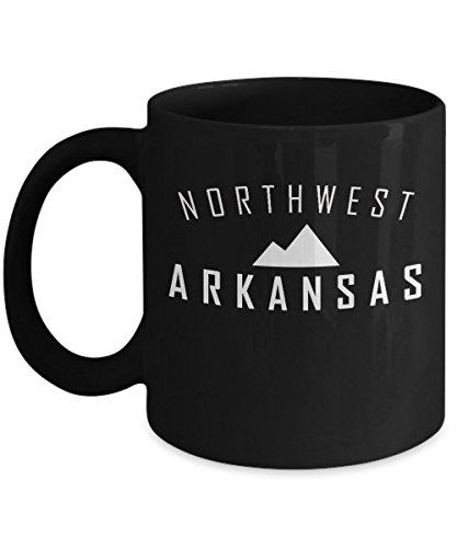 Northwest Arkansas Coffee Mug - NWA Coffee Cup - Arkansas - Fair Bellis Washington