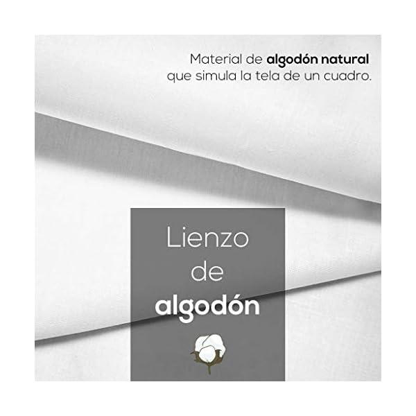 DON LETRA Cuadro en Lienzo Personalizado con Foto o Imagen, 40 x 30 cm, Impresión en Lienzo sobre Bastidor, Cuadros de… 4