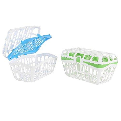 Babies R Us 2 Pack Dishwasher Basket - Green/Blue by Babies R Us