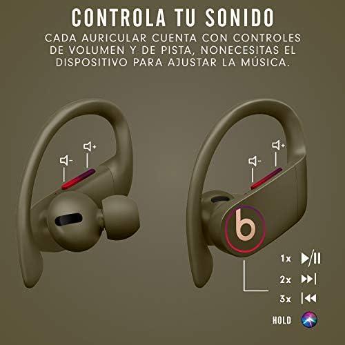 Powerbeats Pro - Auriculares intraurales inalámbricos - Chip Apple H1, Bluetooth de Clase 1, 9 horas de sonido ininterrumpido, resistentes al sudor - Almizcle: Beats: Amazon.es