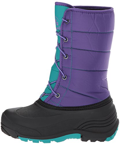 Pictures of Kamik Girls' Cady Snow Boot Purple/Teal NK4701S Purple/Teal 5