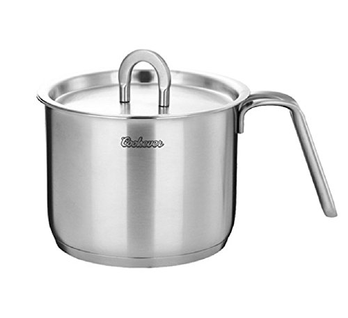 Cookever COOK304 Premium Cookware Non Stick Stainless Steel Multi Pot 5.5 Inch