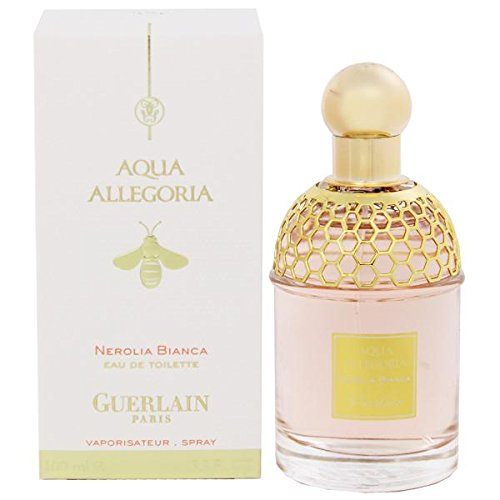 Aqua Allegoria Nerolia Bianca for Women By Guerlain Eau De Toilette Spray, 3.3 ounces