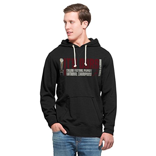 NCAA Alabama Crimson Tide Men's 2015 National Champions '47 Slugger Hood, XX-Large, Jet Black