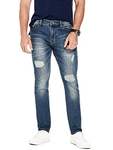 G by GUESS Mens Scotch Destroyed Skinny Jeans