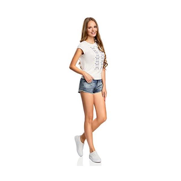oodji Ultra Donna Shorts in Jeans Hot Pants 5 spesavip